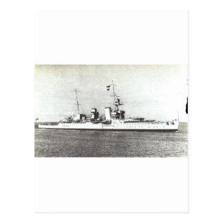 HMS Frobisher Postcard