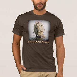 HMS Leopard Warship - T-Shirt
