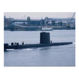 "HMS Osiris"" leaving Portsmouth Naval Base, Hampshi Postcard"