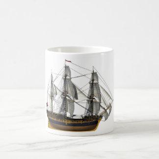 HMS Pandora Basic White Mug