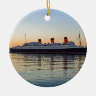 HMS Queen Mary Round Ceramic Decoration