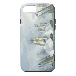 HMS Sirius, Captain Rowse engaging a French Squadr iPhone 8/7 Case