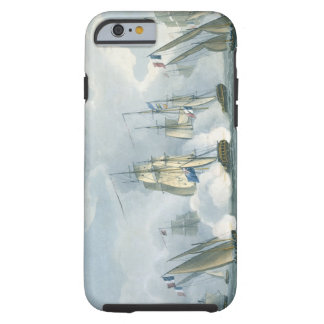 HMS Sirius, Captain Rowse engaging a French Squadr Tough iPhone 6 Case