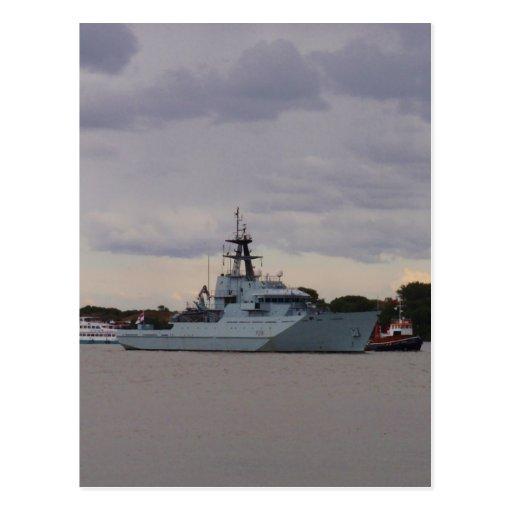 HMS Tyne Post Card