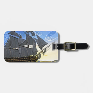 HMS Victory at Dawn Luggage Tag