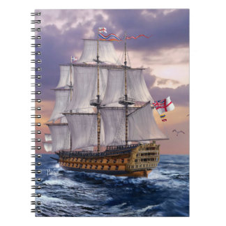 HMS Victory Flagship Painting Gift Notebooks