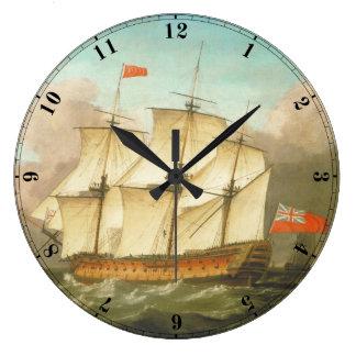 HMS Victory Large Clock
