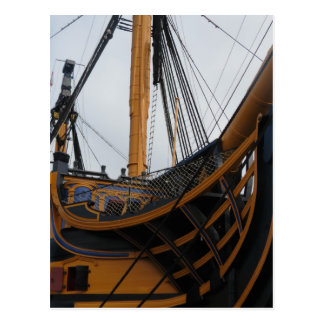 HMS VICTORY - PORTSMOUTH - UK - NELSON'S WARSHIP POSTCARD
