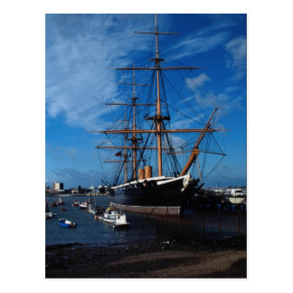 "HMS Warrior"", Portsmouth, England Postcard"