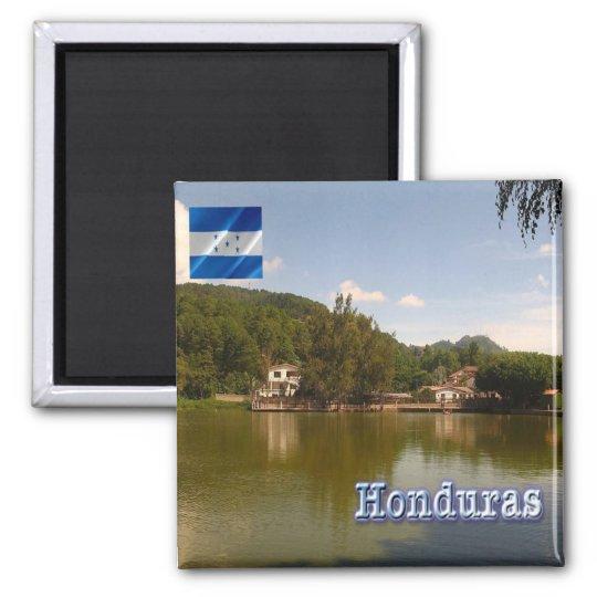 HN - Honduras -  Santa Lucia Square Magnet