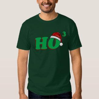 Ho 3 (Cubed) Funny Christmas Shirt