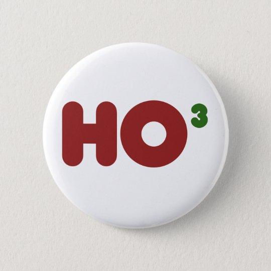 Ho 3 Nerdy funny christmas 6 Cm Round