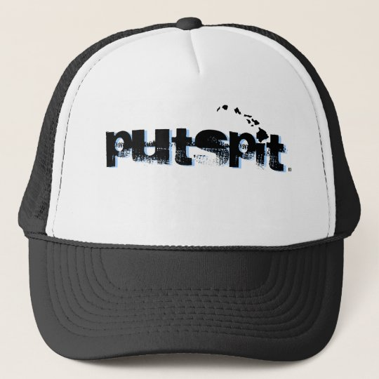 Ho Brah!...,putspit Trucker Hat By: Ho Brah!