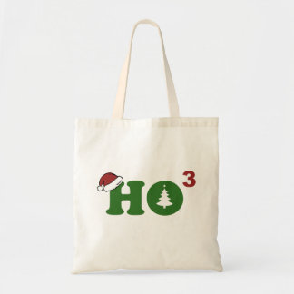 Ho Cubed Merry Christmas Tote Bags
