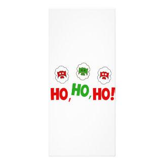 Ho Ho Ho 10 Cm X 23 Cm Rack Card