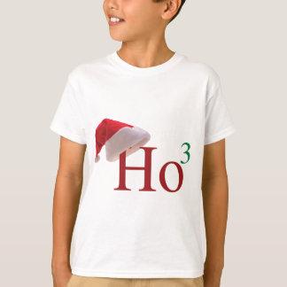 Ho Ho Ho 3 Christmas to the 3rd Power Designs T-Shirt