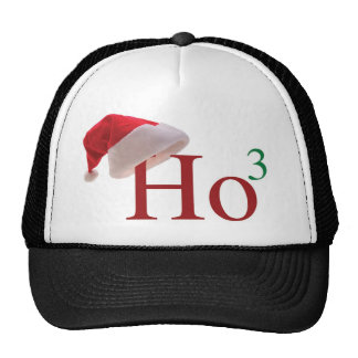 Ho Ho Ho 3 Merry Christmas to the 3rd power Cap
