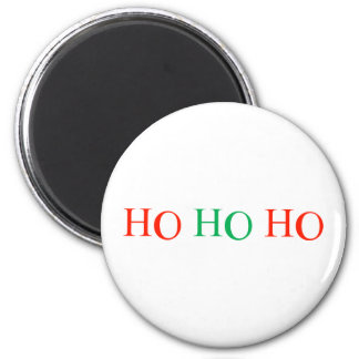 Ho Ho Ho 6 Cm Round Magnet