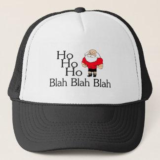 Ho Ho Ho Blah Blah Blah Christmas Trucker Hat