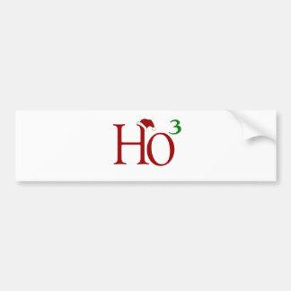 Ho Ho Ho Bumper Sticker