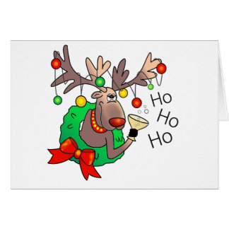 HO HO HO by SHARON SHARPE Card