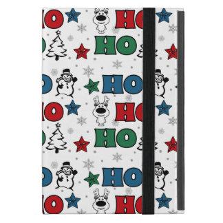 Ho-Ho-Ho Christmas design iPad Mini Cover