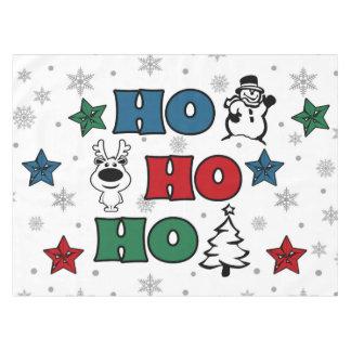 Ho-Ho-Ho Christmas design Tablecloth