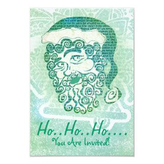 Ho ho ho Christmas party invitations