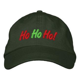 Ho, Ho, Ho! Embroidered Cap Embroidered Baseball Cap
