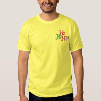 Ho! Ho! Ho! Embroidered T-Shirt