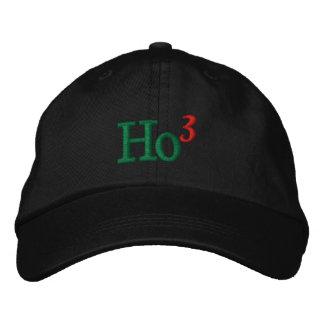 Ho Ho Ho Embroidery Embroidered Hat