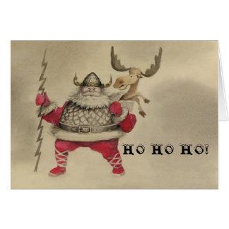HO HO HO! GREETING CARD