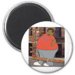 Ho Ho Ho Ho Ho It's Chubby Alfred! Refrigerator Magnets