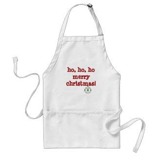 ho, ho, ho, ho merry christmas! apron