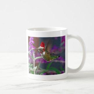 Ho Ho Ho Hummingbird Basic White Mug