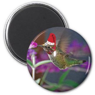 Ho Ho Ho Hummingbird Refrigerator Magnets