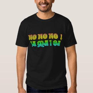 Ho Ho Ho! Jamaica Merry Christmas Rasta Colors Tee Shirts