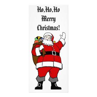 Ho,Ho,Ho Merry Christmas! - Christmas Rack Card