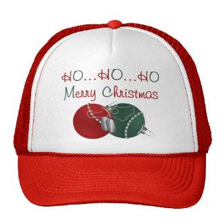 HO HO HO Merry Christmas Hats