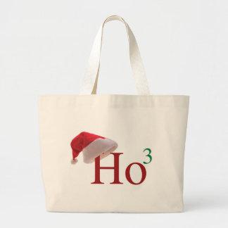 Ho Ho Ho Merry Christmas Large Tote Bag