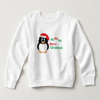 Ho Ho Ho Merry Christmas Penguin Sweatshirt