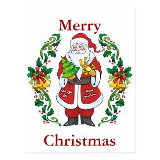 Ho Ho Ho Merry Christmas Postcards