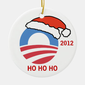 Ho Ho Ho Obama Ornament