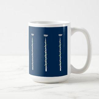 Ho Ho Ho or Hoe Hoe Hoe Garden Tool Christmas Coffee Mug