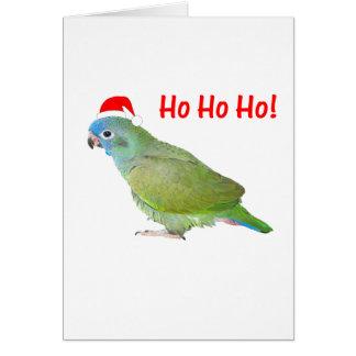 Ho Ho Ho (parrot) Card