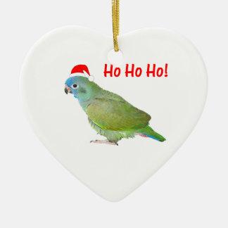 Ho Ho Ho (parrot) Christmas Ornament