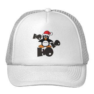 Ho Ho Ho - Penguin - merry christmas Cap