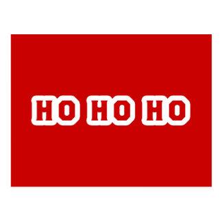 Ho Ho Ho Postcard