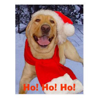 Ho! Ho! Ho! Postcard