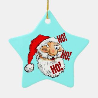 Ho Ho Ho Santa Claus Christmas Ornament